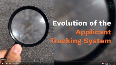 evolution of the applicant tracking system