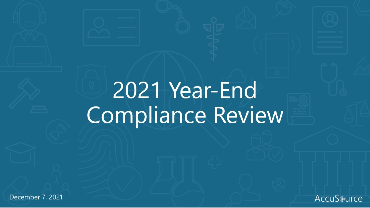 2019 year end compliance webinar